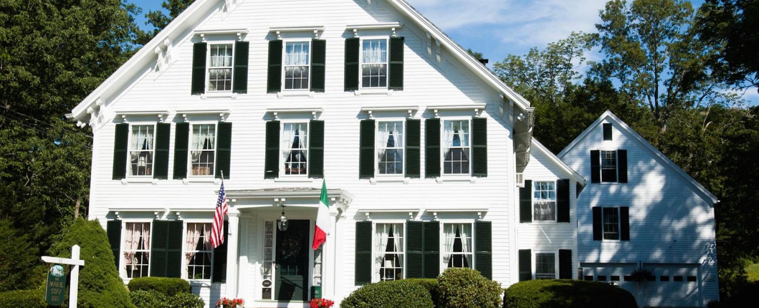 Accommodations at Camden Maine Stay Inn.