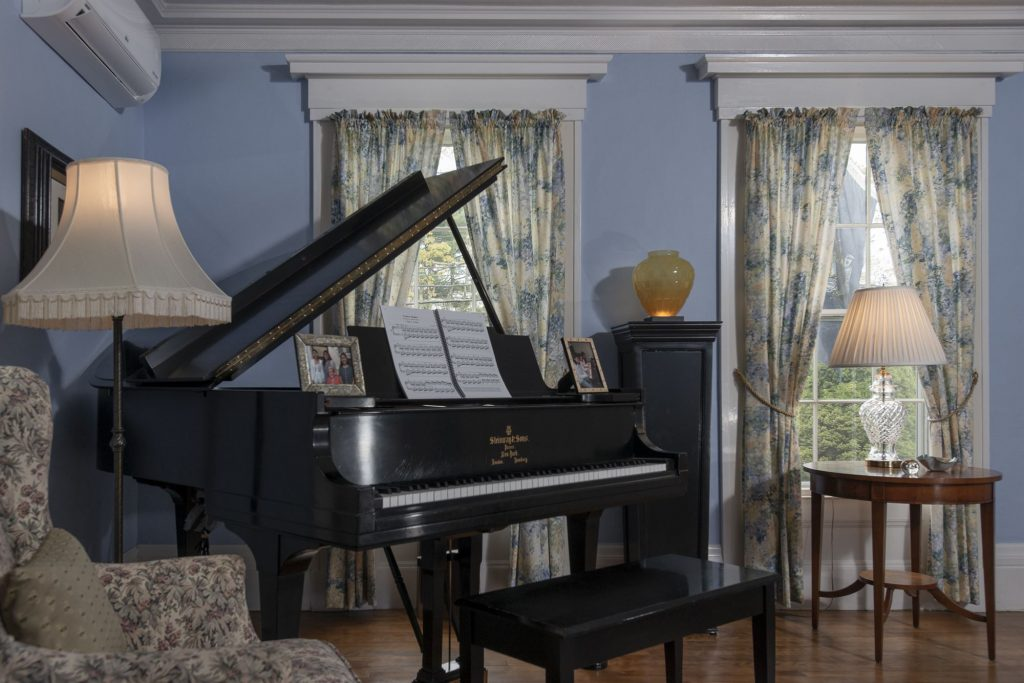 Piano Room at Camden Maine Stay Inn Camden, ME