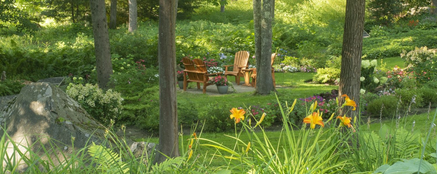 Garden View with chairs
